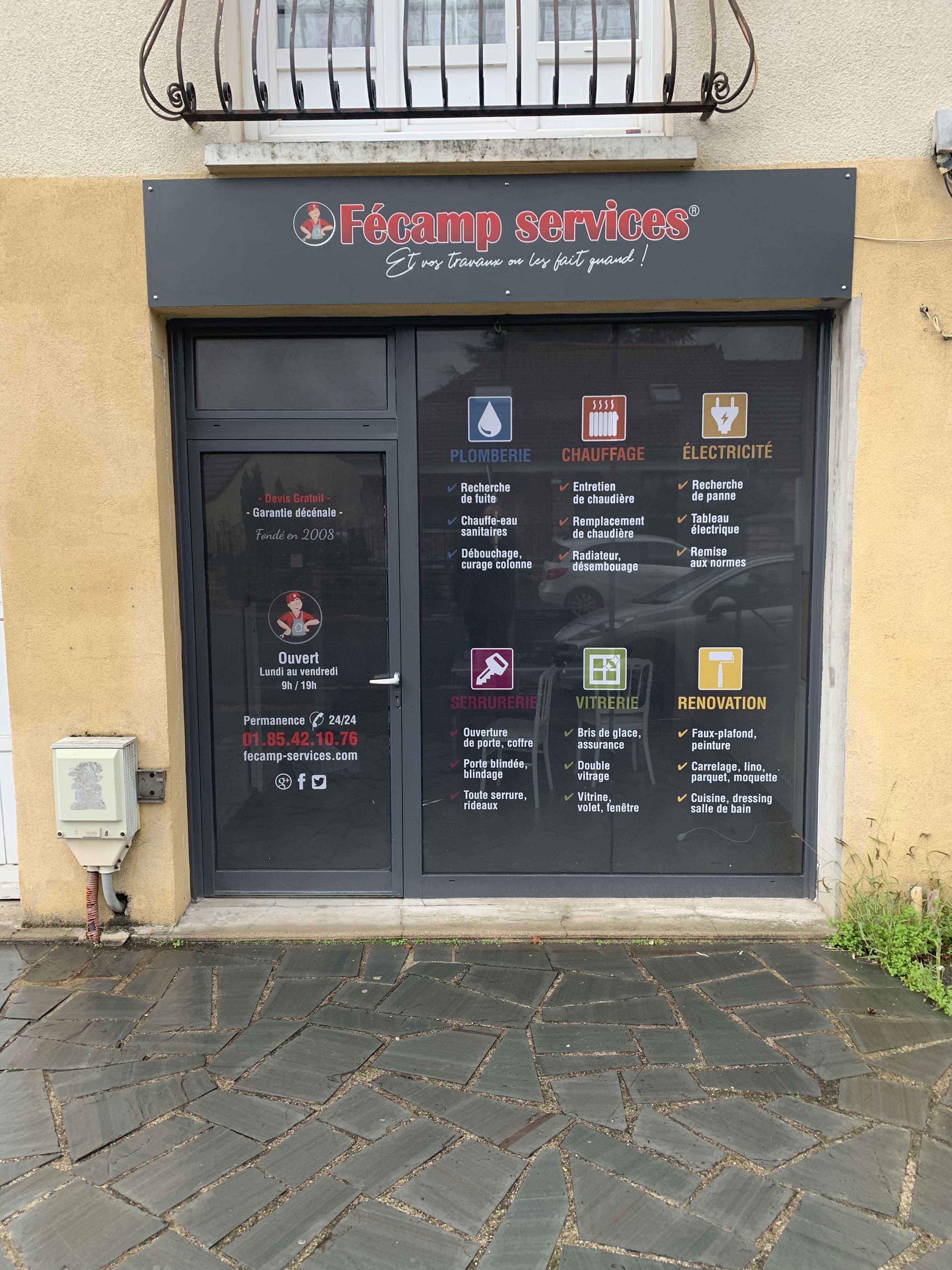Magasin Fécamp Services Roissy-en-brie